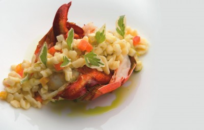 The menu at The St. Regis Princeville Resort's Kauai Grill boasts international flavors.