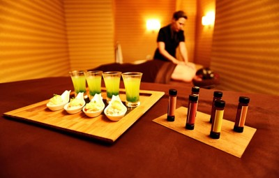 The St. Regis Aspen Resort sources local ingredients for its Farm-to-Massage Table experience.
