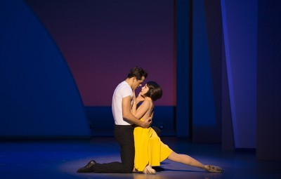 """Robert Fairchild (left) and Leanne Cope (right) star in """"An American in Paris"""" (©2014, Angela Sterling)"""