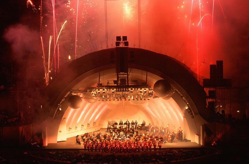 The Hollywood Bowl will host Frank Sinatra's 100th birthday celebration on July 22. (Courtesy of Joseph Sohm/Shutterstock.com)