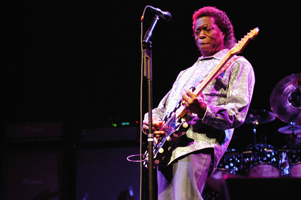 Legendary blues guitarist Buddy Guy performs at UCLA on Aug. 13. (Courtesy of TDC Photography/Shutterstock.com)