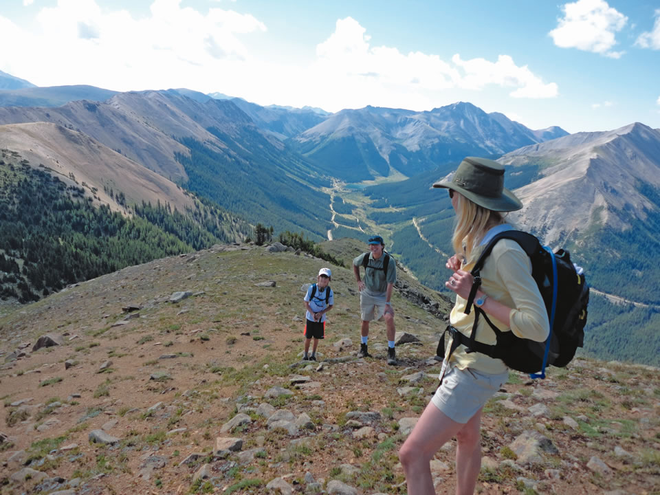 Aspen Alpine Guides leads programs like hikes and overnight trips. (Courtesy of Stephen Szoradi of Aspen Alpine Guides)