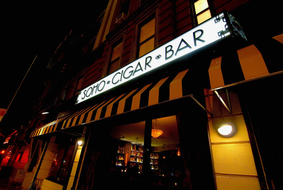 Soho Cigar Bar (Photo by Oliver French/Viral Cinema Studio)