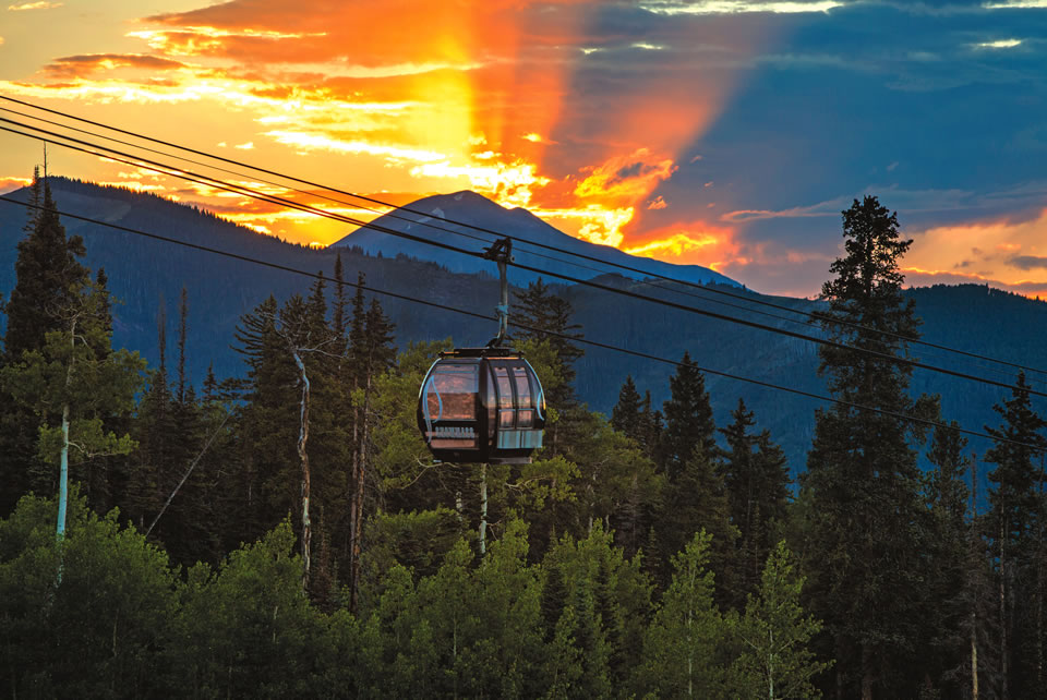 Elk Camp Gondola (Photo by Jeremy Swanson)