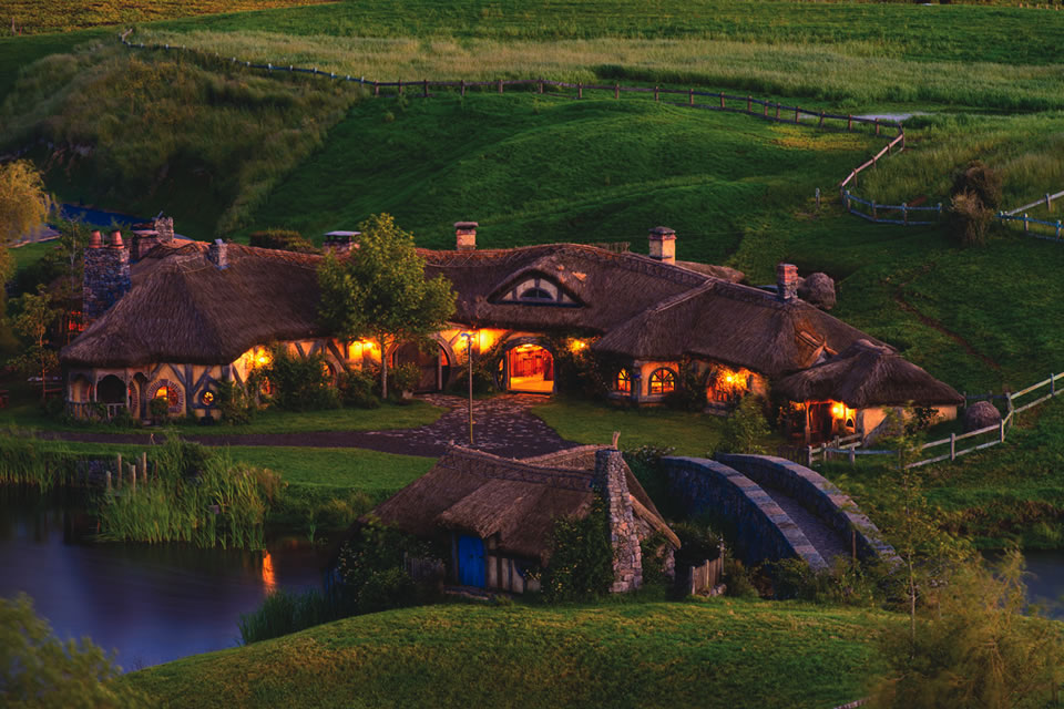 "Matamata, also known as the Shire in ""The Lord of the Rings"" and ""The Hobbit"" trilogies"
