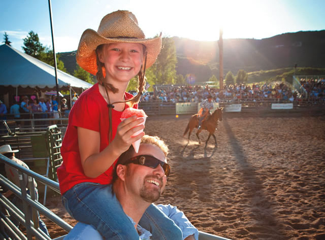 Snowmass Rodeo, on Wednesdays until Aug. 19 (Courtesy of Snowmass Tourism/Tyler Stableford)