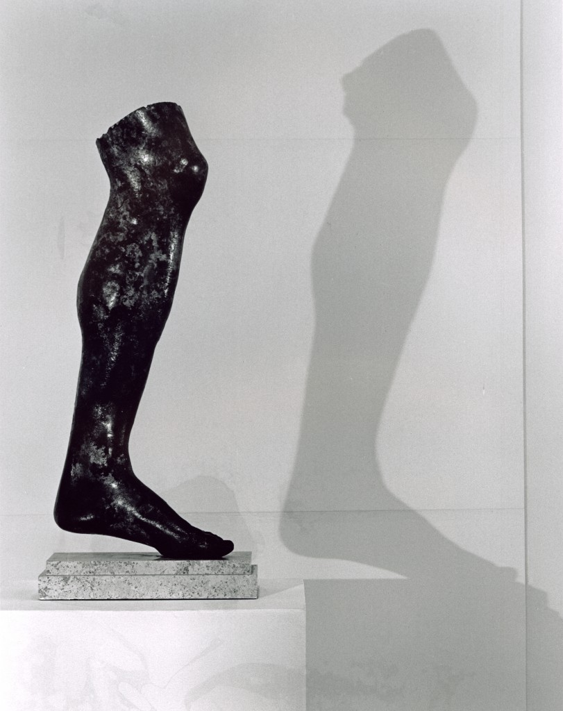 """Roman Bronze Leg,"" by Robert Mapplethorpe (1978) (© Robert Mapplethorpe Foundation. Used by permission.)"