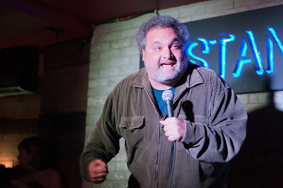 Top comedians like Artie Lange perform nightly at The Stand. (Courtesy of The Stand)