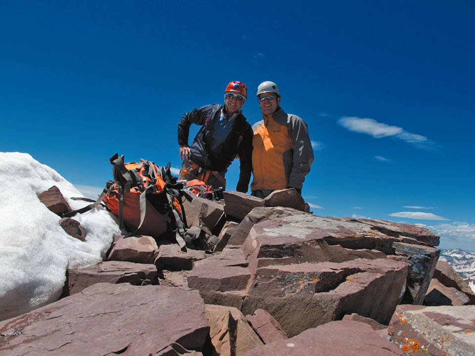 Aspen Expeditions' climbing trips cater to a range of ability levels. (Courtesy of Dick Jackson Photo)