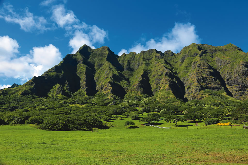 "Oahu's Kaawa Valley on Kualoa Ranch can be seen in movies like ""Jurassic Park"" and the recent hit ""Jurassic World."""