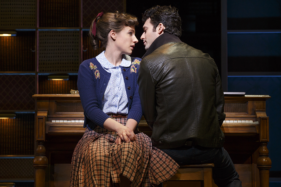 """""""Beautiful: The Carole King Musical"""" tells the story of the singer's rise to fame and features many of her pop hits. (Courtesy Joan Marcus)"""