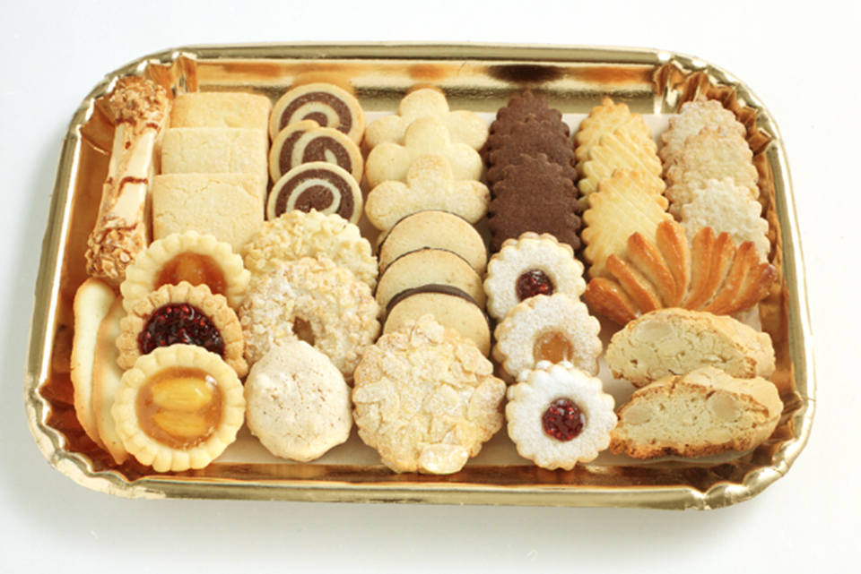 Sant Ambroeus cookie tray