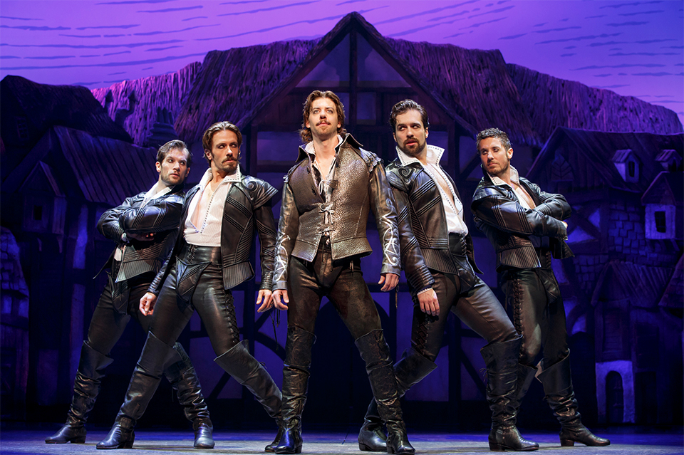 """Shakespeare fans will appreciate the comedic twist in """"Something Rotten."""" (Courtesy Joan Marcus)"""