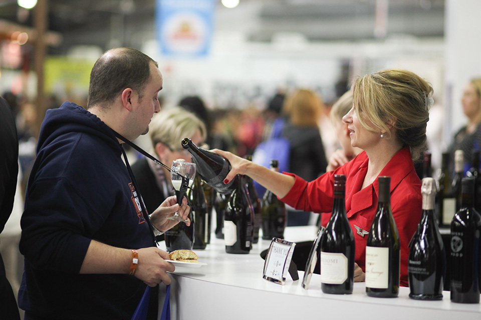The grand tastings will give guests a chance to sample food and drinks from celebrity chefs and top winemakers. (Credit Billy Farrell Agency)