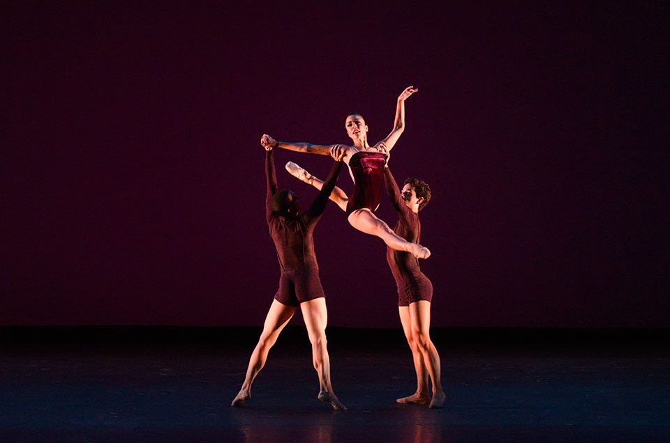 """Viscera,"" choreographed by rising British star Liam Scarlett is included in Program One. (Courtesy Kyle Froman)"