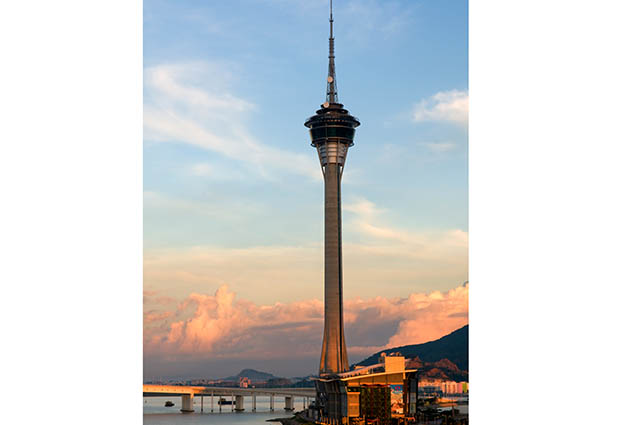Daring travelers can bungee jump, SkyJump or climb Macau Tower.