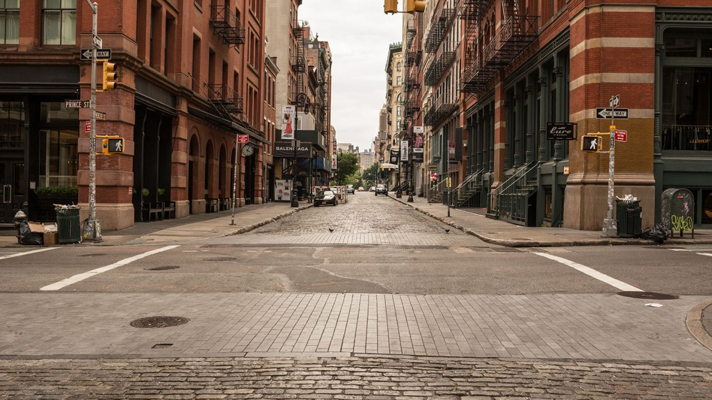 Mercer Street in Soho (Stockelements/Shutterstock)