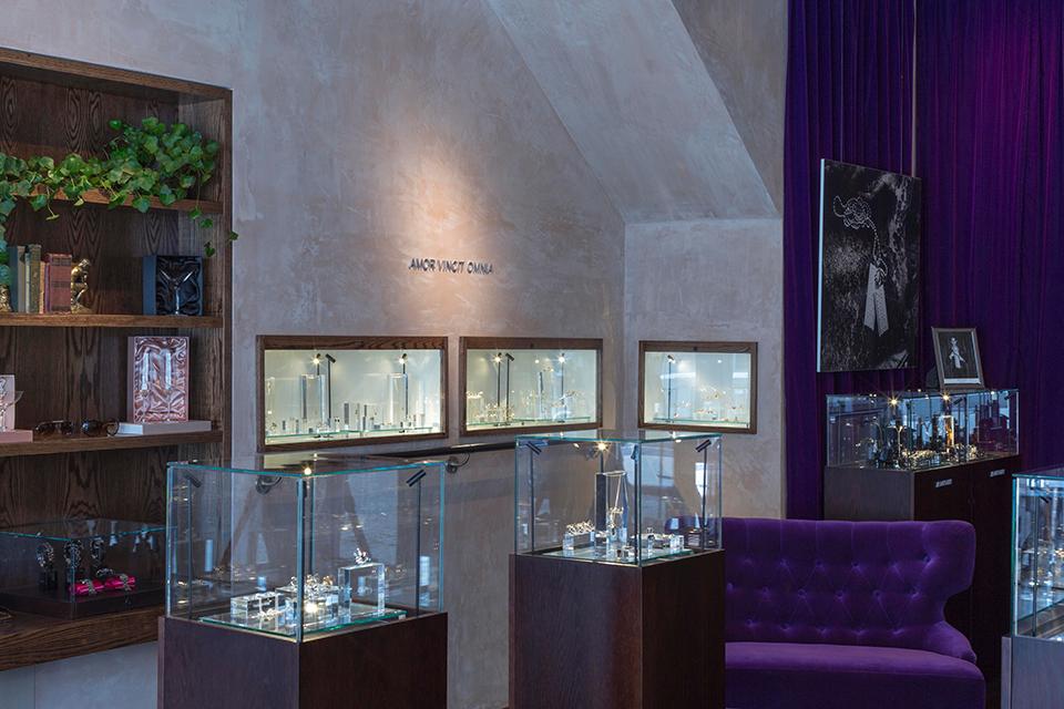 Headquartered in Sweden, Efva Attling's only U.S. boutique is in New York.