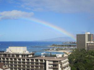 Hawaii rainbow waikiki