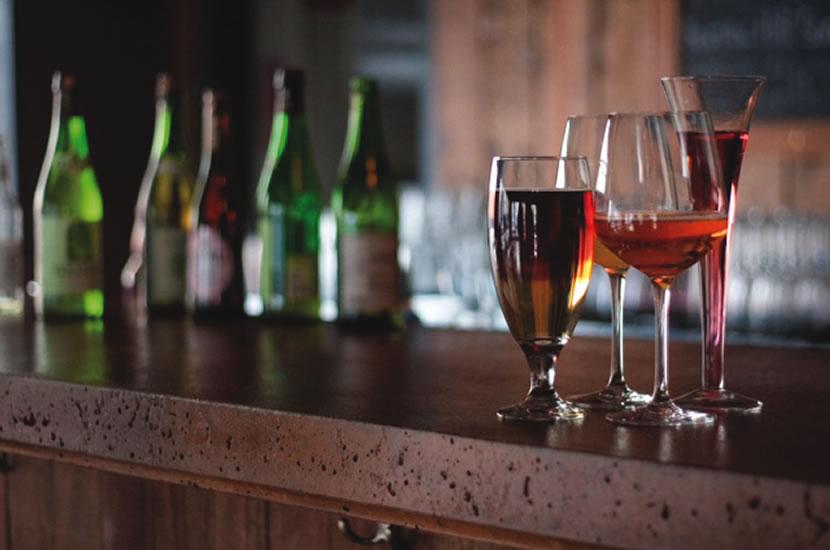 Cocktails with hard cider