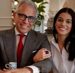 Geoffrey Zakarian and his wife